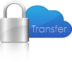 lock icon representing HIPPA-compliant transfers